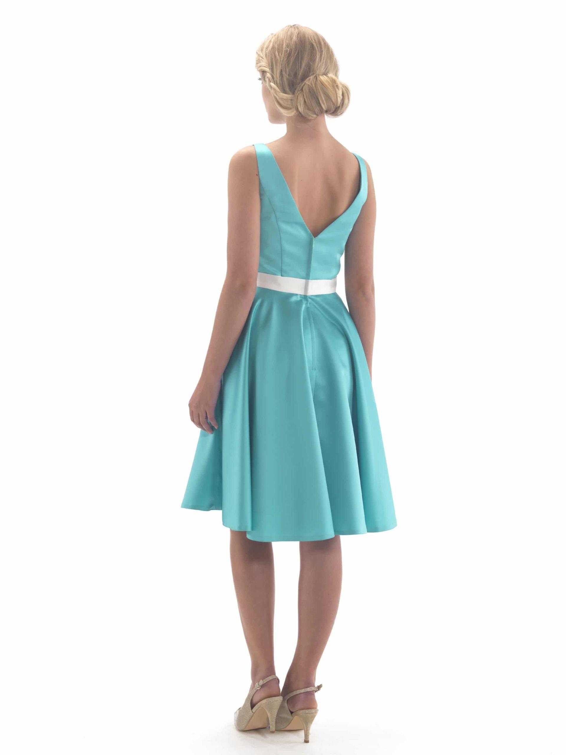 en131-tea-length-satin-bridesmaid-dress-back-72px