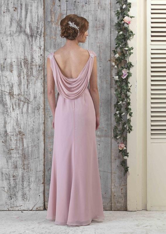 EN064P-Chiffon-Cowl-Evening-Wedding-Bridesmaid-Dress-Back-with-pearls_72px