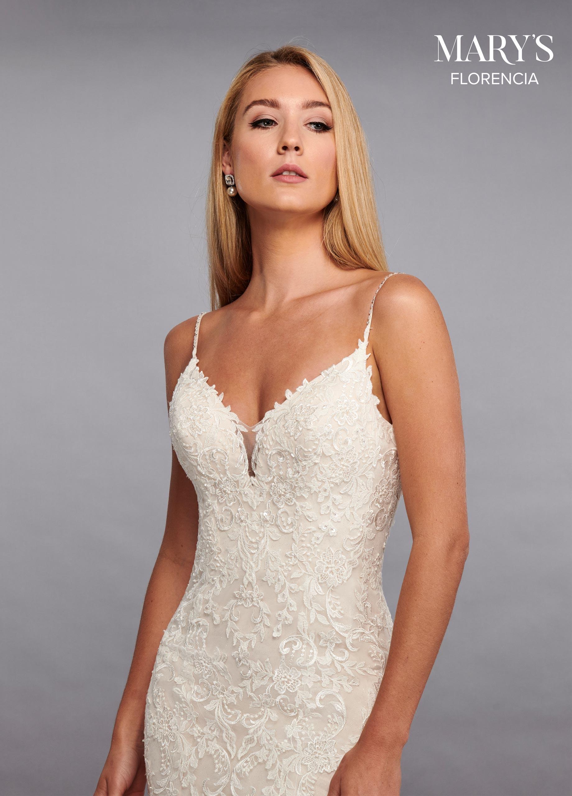 wedding dress fishtail