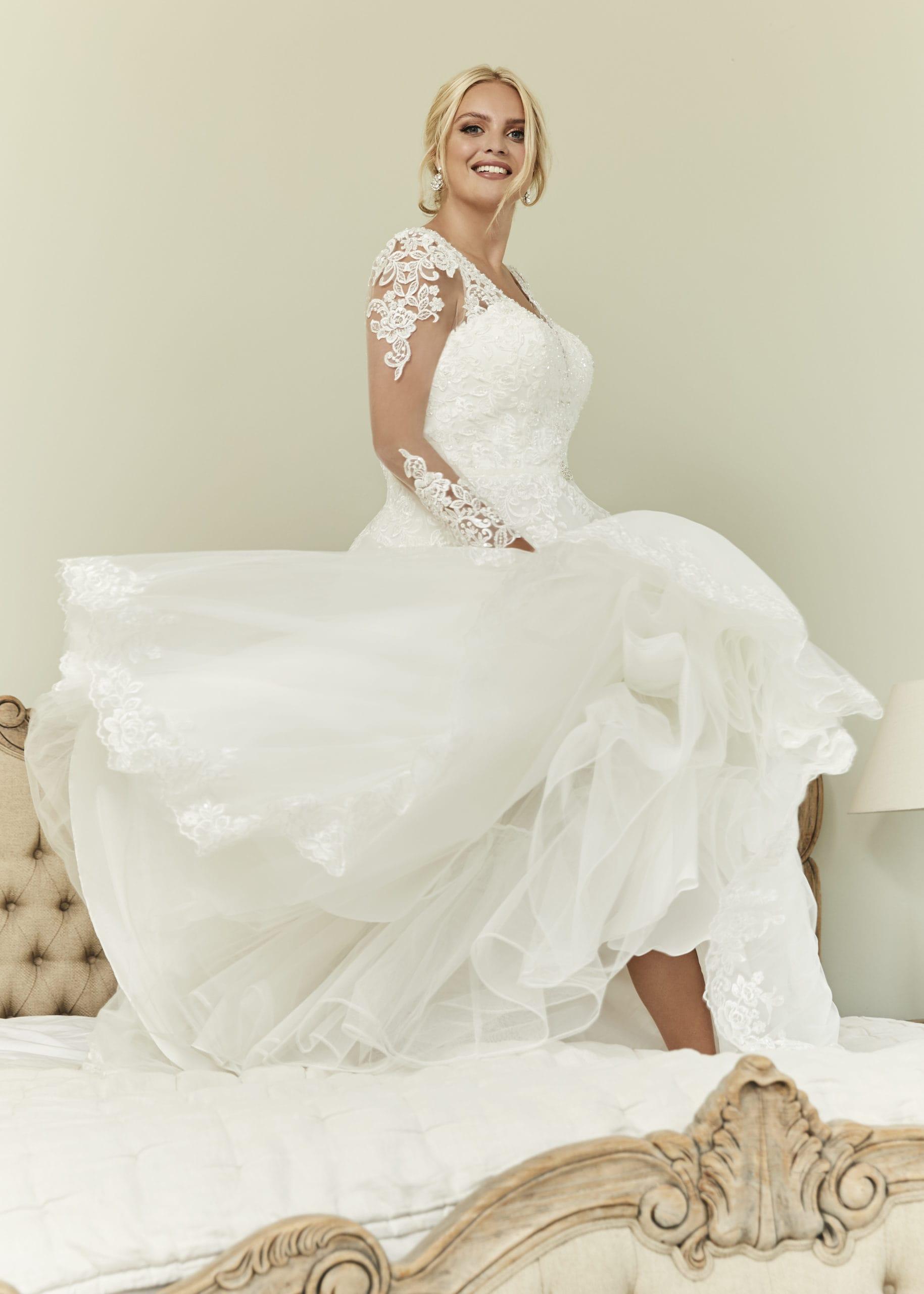 dress for wedding plus size