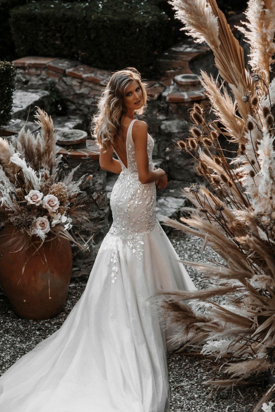 fishtail wedding dresses